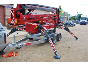 GPT 35 Access Platform Trailer (Hinowa 23.12 & CTE Traccess 230)