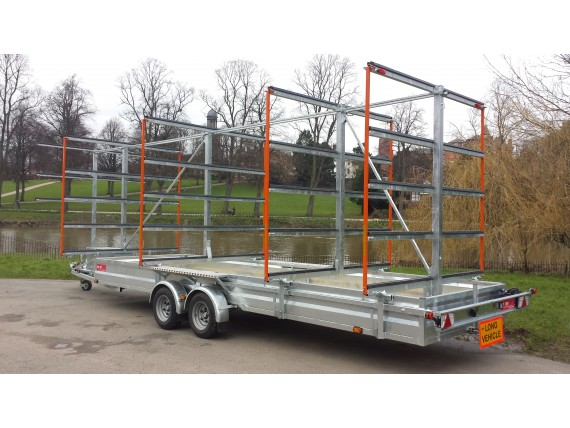 MT1865 RB 5x20 Centre Post Rowing Trailer