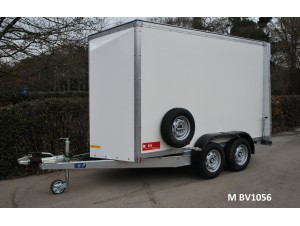 Box Van 'Twin Axle' Trailers