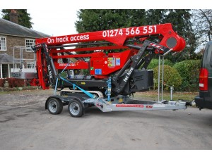 GPT 35 Spider Lift 22.10 Access Platform Promax Trailer