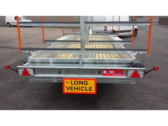 MT1865 RB 5x20 Centre Post Rowing Boat Trailer