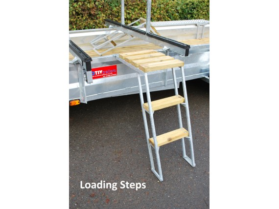 TC 2000 3x12 Centre Post Rowing Boat Trailer