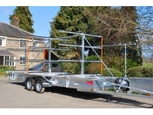 TC 2000 3x16 Centre Post Rowing Trailer