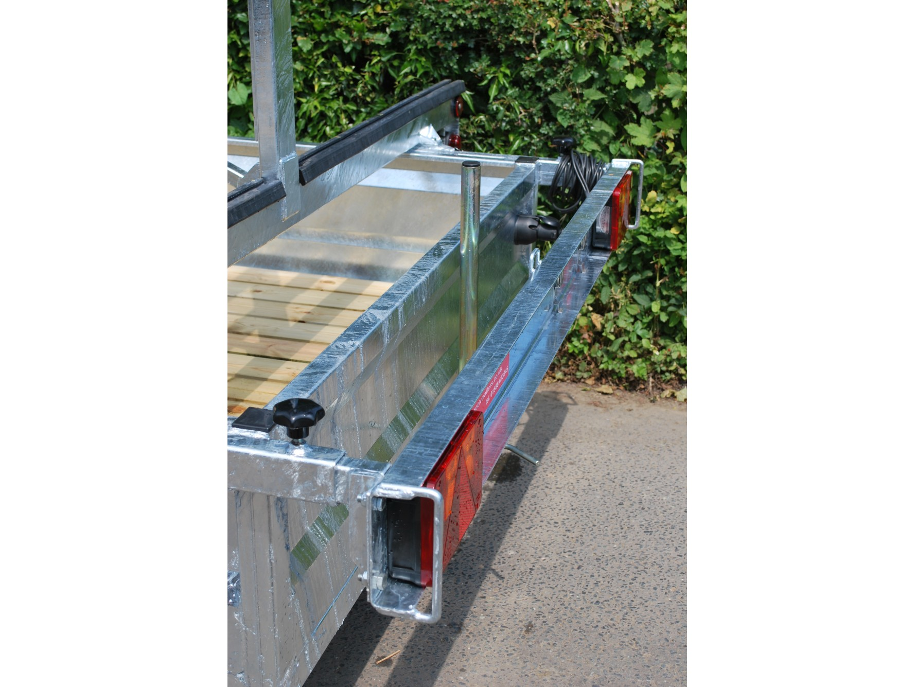 Motiv Trailers | TC 2000 HDG 3x12 Rowing Boat Trailer