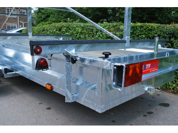 TC 2000 HDG 3x12 Rowing Boat Trailer