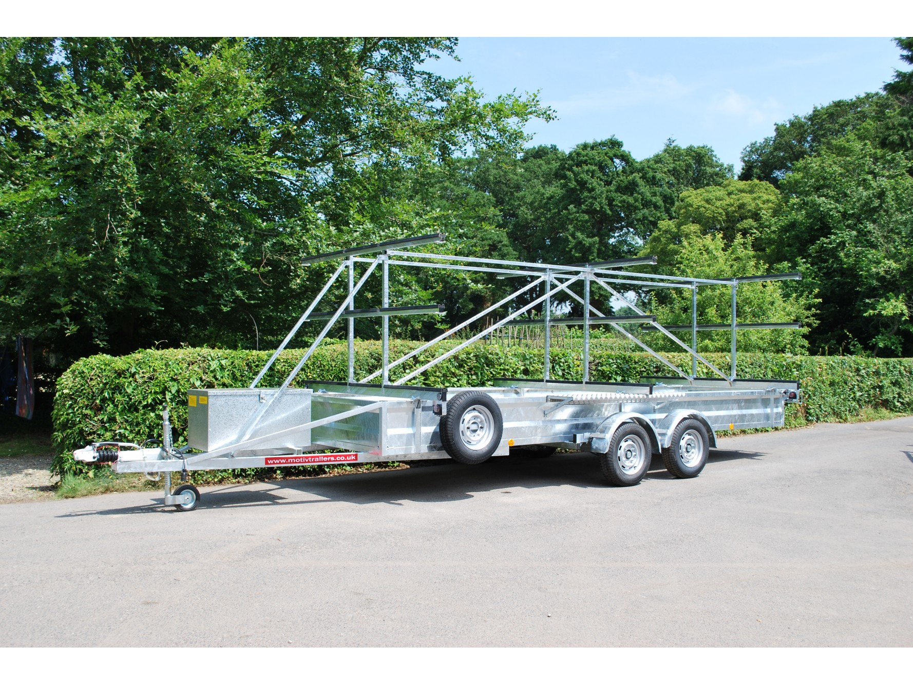TC 2000 HDG 3x9 Rowing Boat Trailer