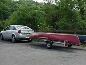 Micro Canoe Trailer