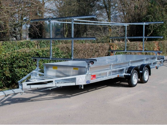 TC 1200 ET 2x9 Rowing Boat Trailer