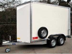 Box Van Trailer Double Axle
