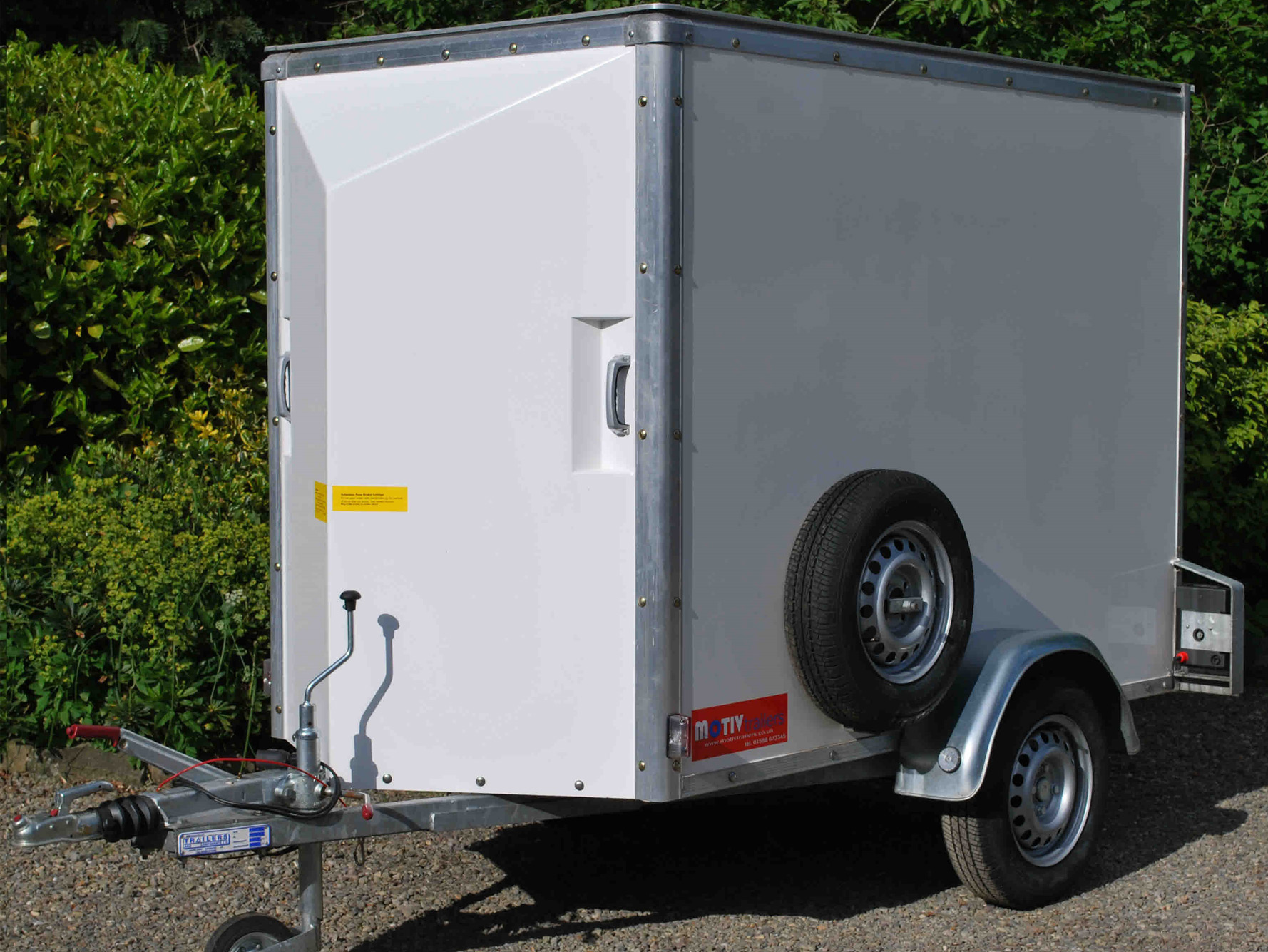 Single Axle 'Lightweight' Box Van  Trailer