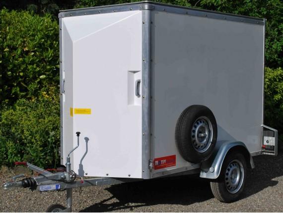 Single Axle 'Lightweight' Box Van  Trailer